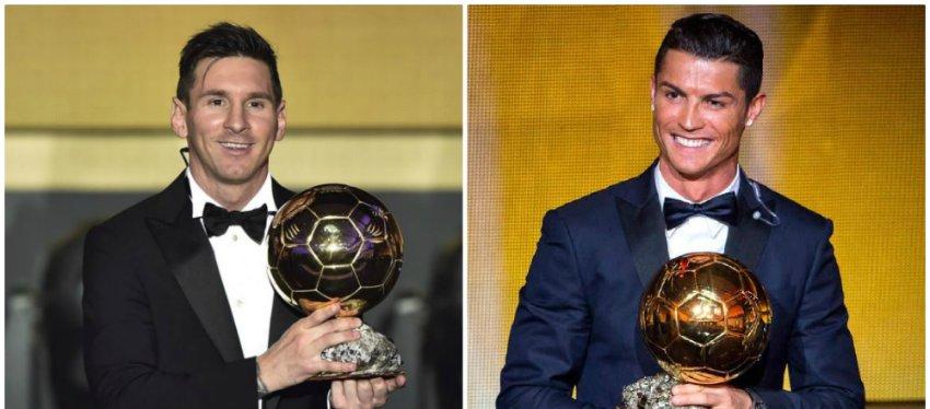 Messi y Cristiano estarían fuera de los tres favoritos a ganar el Balon de Oro