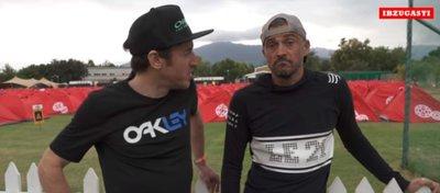 Ibon Zugasti fue el encargado de entrevistar a Luis Enrique. Foto: Youtube.