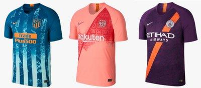 Nike revoluciona las terceras equipaciones de los equipos europeos