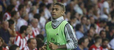 Mariano, jugador del Real Madrid. Foto: Twitter.