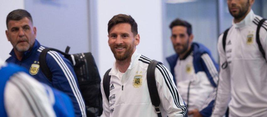 Messi vuelve a estar llamado a hacer algo grande con su selección. Foto: Twitter.
