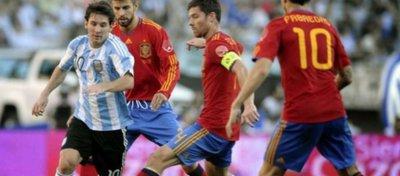 Así está el cara a cara entre España y Argentina