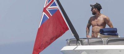 Messi disfruta de sus vacaciones en Ibiza. Foto: GHS/GTRES.