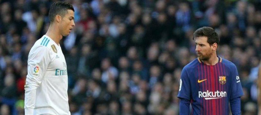 El reencuentro entre Cristiano y Messi carecerá del atractivo de otras ocasiones. Foto: Twitter.