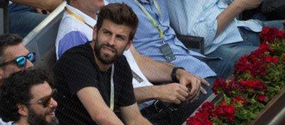 Piqué, el pasado año en el Masters de Madrid. Foto: La Vanguardia.