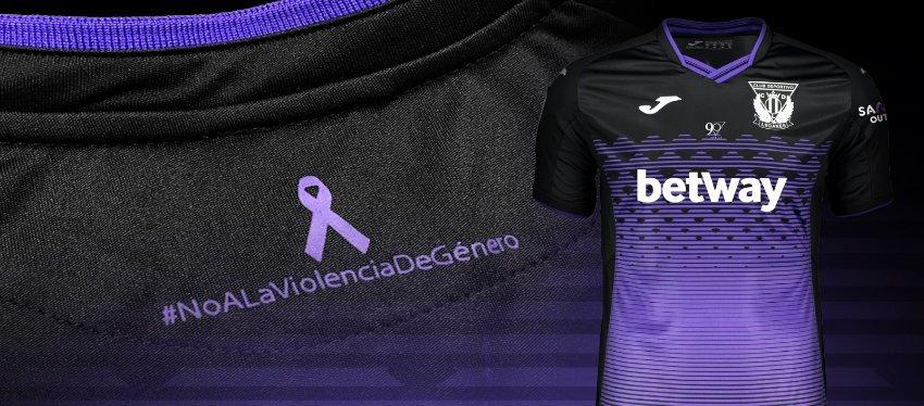 El Leganés, contra la violencia de género el próximo sábado en el Bernabéu