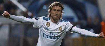 Modric celebra un gol con el Real Madird. Foto: COPE.