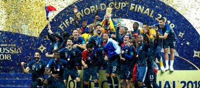 Francia, campeona del mundo 2018. Foto: Twitter.
