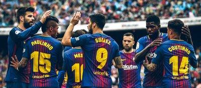 El Barça celebra su victoria ante el Valencia. Foto: @barcaworldwide.