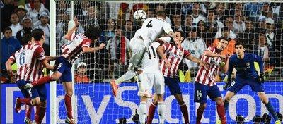 Ramos fuerza la prórroga en la final de 2014. Foto: Twitter.