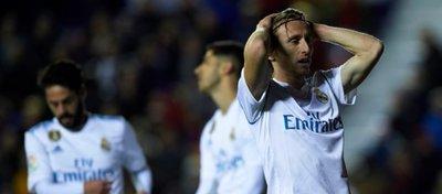 El Real Madrid sumó un nuevo tropiezo en Liga. Foto: Twitter.
