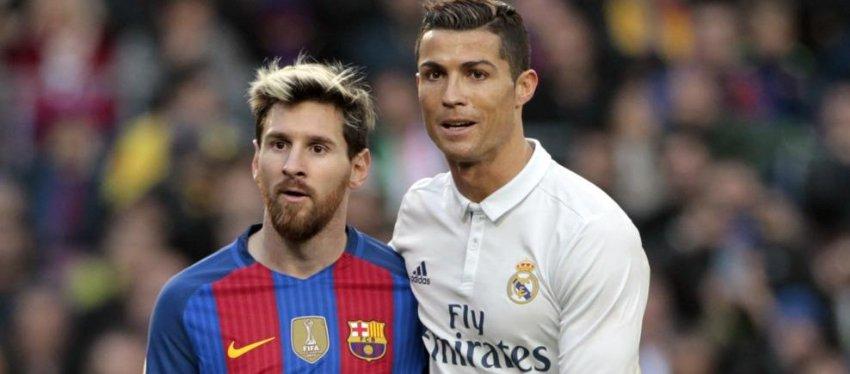Messi y Cristiano, un duelo que parece eterno. Foto: Twitter.