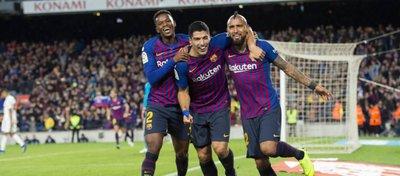El Barça volvió a celebrar una nueva goleada en El Clásico. Foto: FC Barcelona.