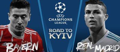 Bayern-Real Madrid, un duelo de gigantes. Foto: Twitter.