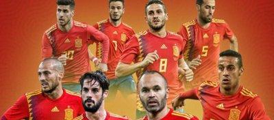 España sigue siendo una de las grandes favoritas en Rusia. Foto: @alexrupon.
