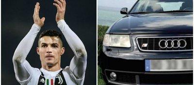 El primer coche de Cristiano Ronaldo, a la venta por el doble de su valor