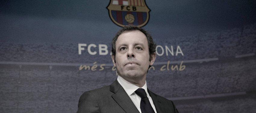 Sandro Rosell, en su etapa como presidente del Barça. Foto: El Confidencial.