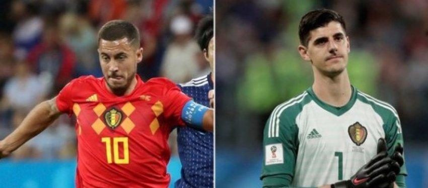 Hazard y Courtois, los posibles grandes fichajes del Madrid este verano: Foto: Infobae.