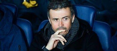 Luis Enrique, en su etapa como entrenador del Barça. Foto: Icon Sport.