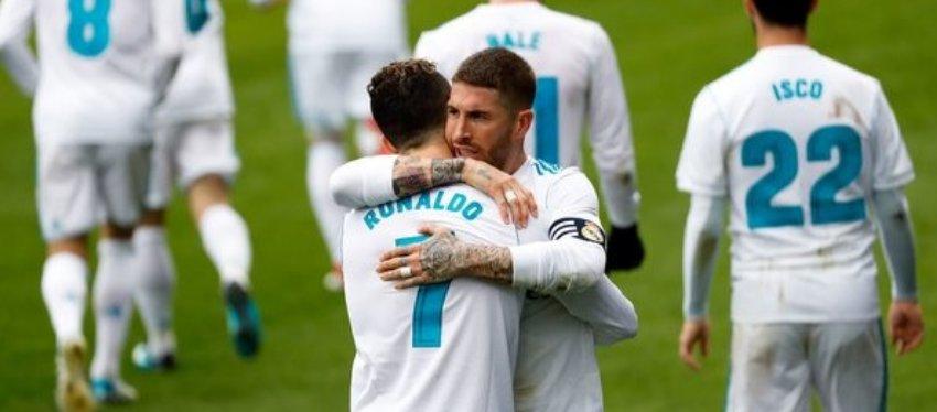Cristiano Ronaldo y Ramos podrían ser protagonistas una final más. Foto: Twitter.