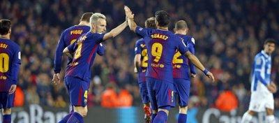 El Barça sigue sin levantar el pie del acelerador. Foto: FC Barcelona.