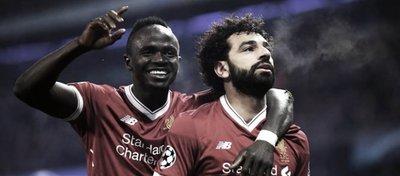 Salah, la estrella del Liverpool. Foto: Twitter.