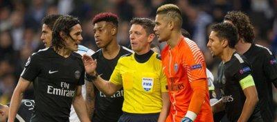 El PSG se quejó de la actuación arbitral. Foto: Sportscenter.