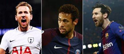 Kane, Neymar y Messi, una delantera soñada en Europa.