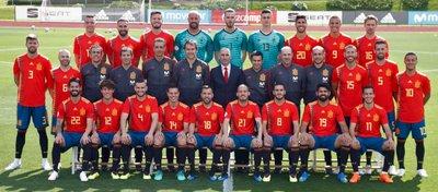 La selección española ya prepara el asalto a la segunda estrella. Foto: Twitter.