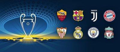 Barça-Roma, Sevilla-Bayern, Juventus-Real Madrid y Liverpool-City en cuartos