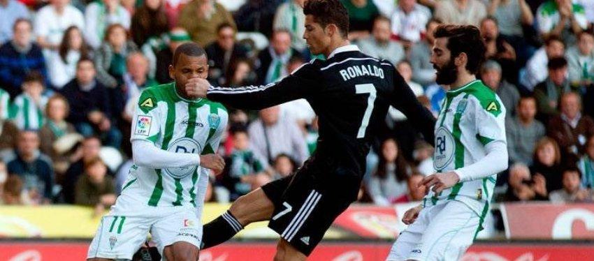 Cristiano Ronaldo, en una de sus expulsiones. Foto: Twitter.
