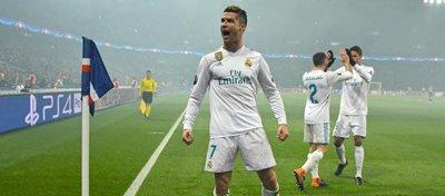 Cristiano Ronaldo celebra el 0-1 ante el PSG. Foto: Mundo Deportivo.